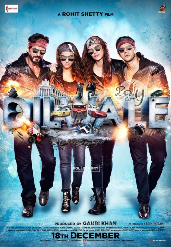 Dilwale Movie Poster (383983)