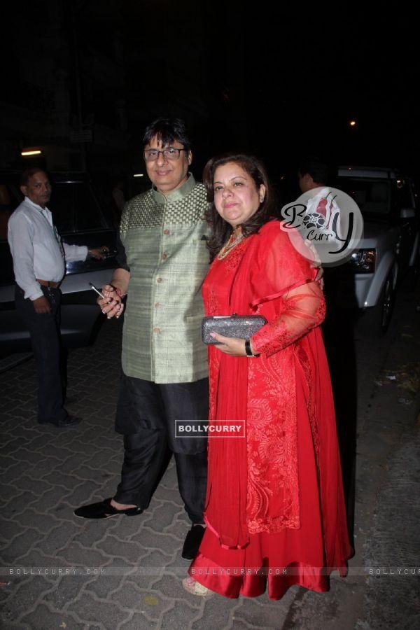 Vashu Bhagnani at Manish Malhotra's Diwali Bash