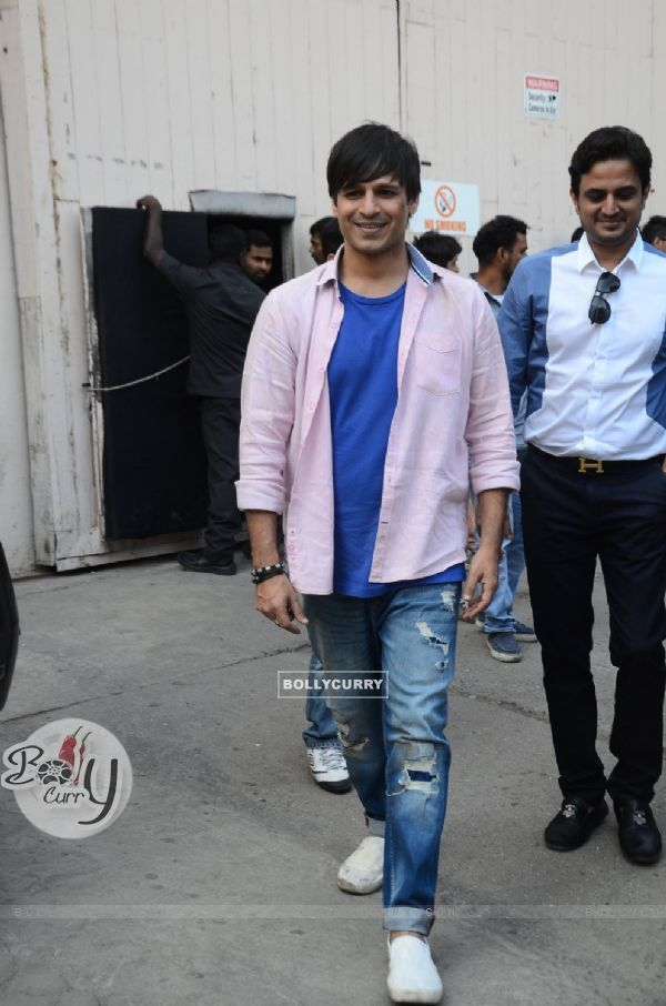 Vivek Oberoi on the Sets of Great Grand Masti