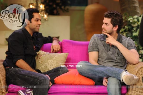 Neil Nitin Mukesh and Abhay Deol