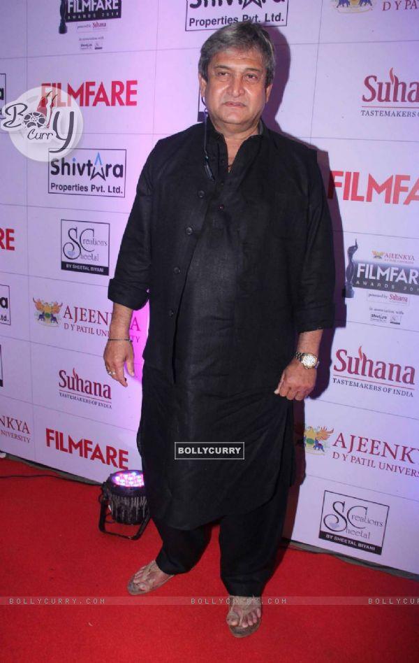Mahesh Manjrekar at Filmfare Awards - Marathi 2015
