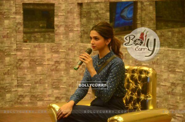 Deepika Padukone in Bigg Boss 9 House for Promotions of Tamasha