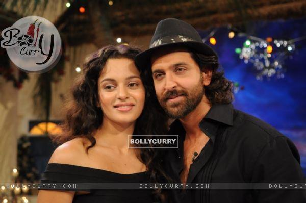 Hrithik Roshan and Kangna Ranaut