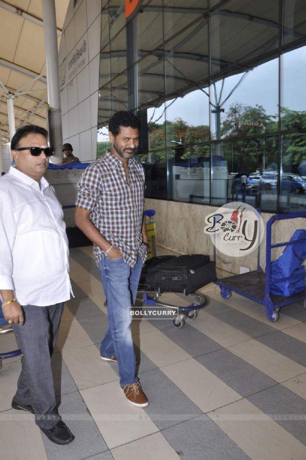 Prabhu Dheva Snapped at Airport