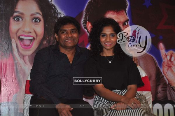 Johny Lever with daughter Jamie Lever
