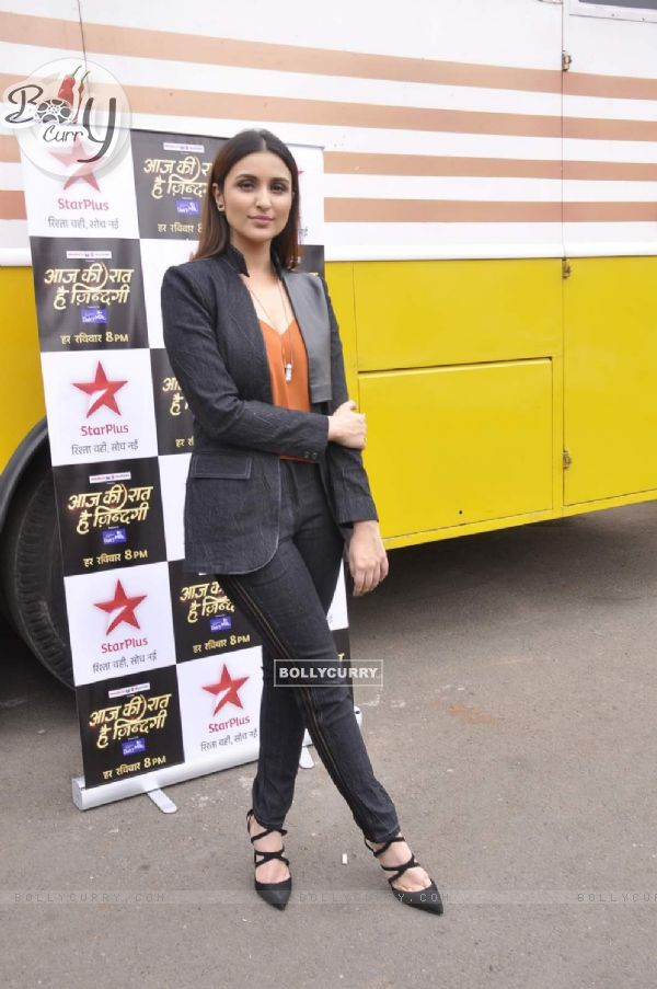 Parineeti Chopra on the Sets of Aaj Ki Raat Hai Zindagi