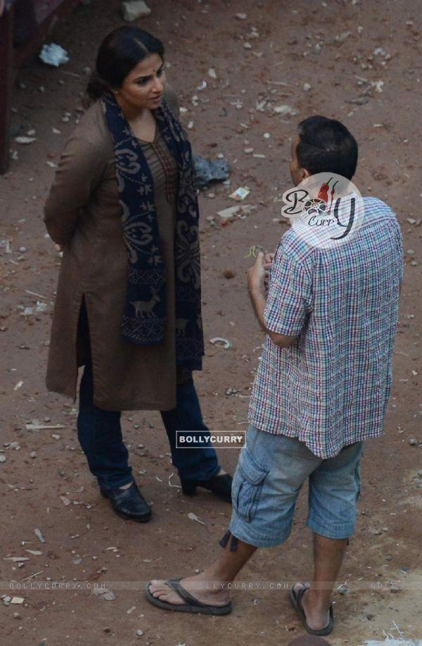 Vidya Balan S with Sujoy Ghosh