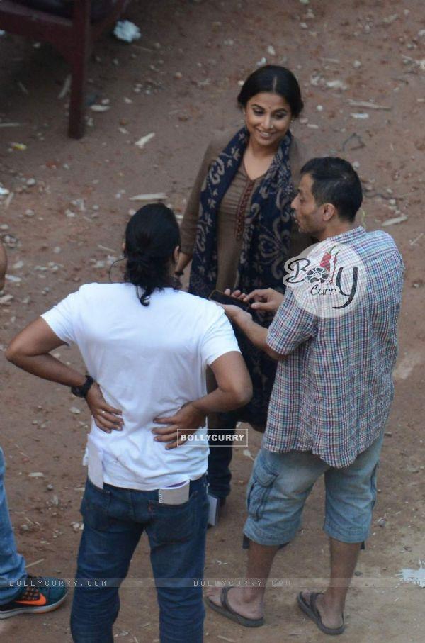 Vidya Balan and Sujoy Ghosh Shoots in Kolkata