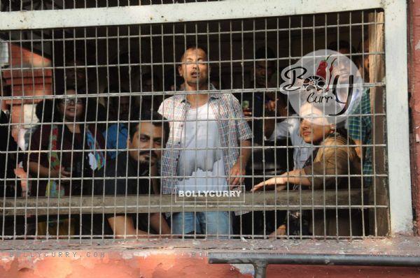 Vidya Balan, Nawazuddin Siddiqui and Sujoy Ghosh Shoots in Kolkata