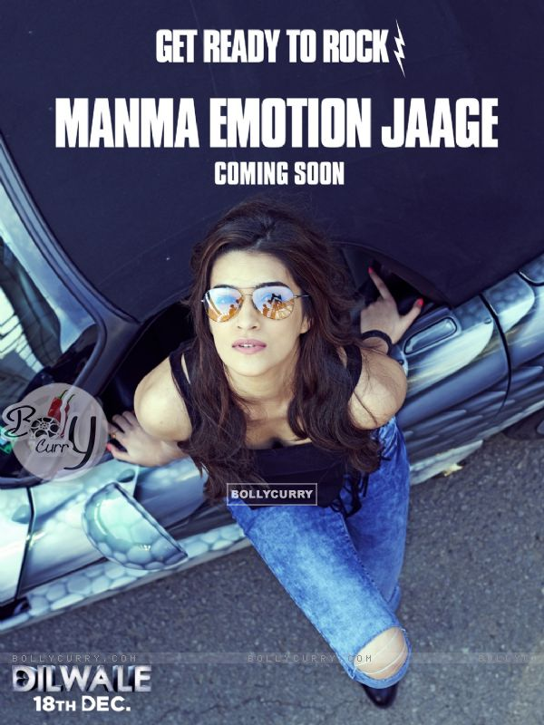 Kriti Sanon in 'Manma Emotion Jaage' - second song of Dilwale