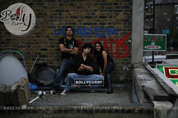 Still image from the movie London Dreams