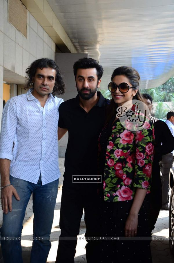 Imtiaz Ali, Ranbir Kapoor and Deepika Padukone