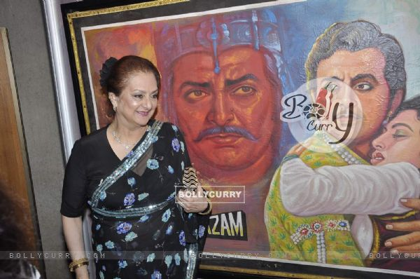 Saira Banu at Dilip Kumar's Picture Exhibition