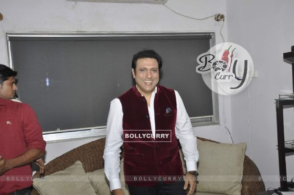 Bollywood actor Govinda during an Interview post the Slapgate Case
