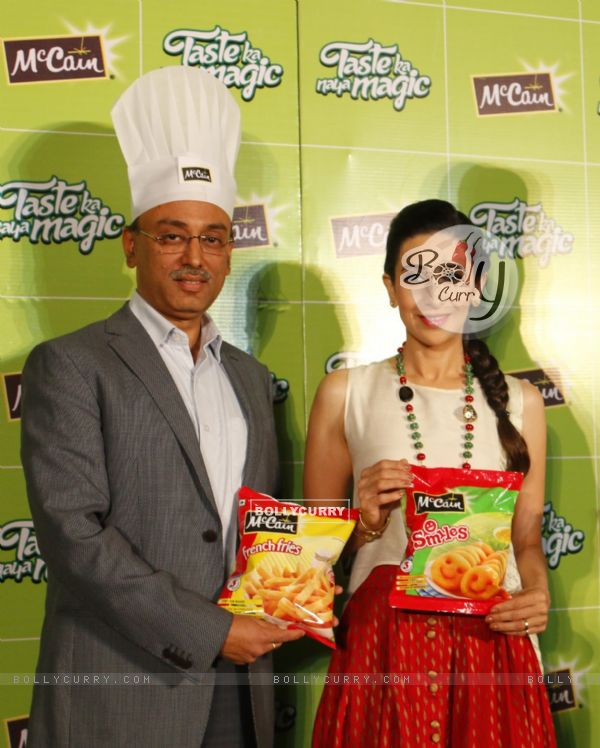 Karisma Kapoor at Launch of McCain Food Products