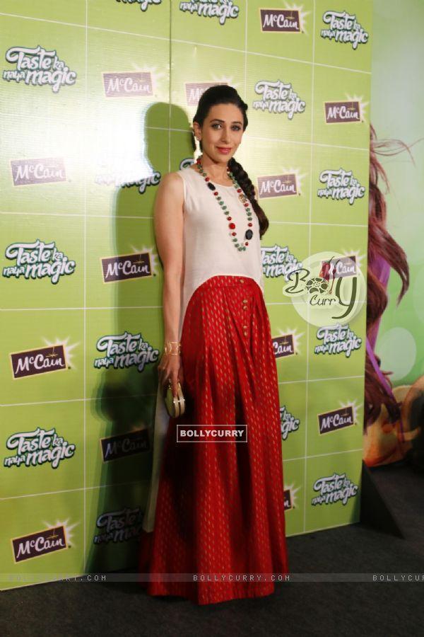 Bollywood Actress Karisma Kapoor at Launch of McCain Food Products
