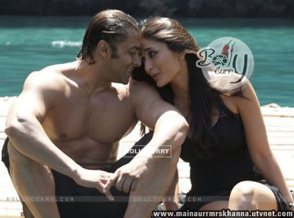 Hot scene of Salman and Kareena