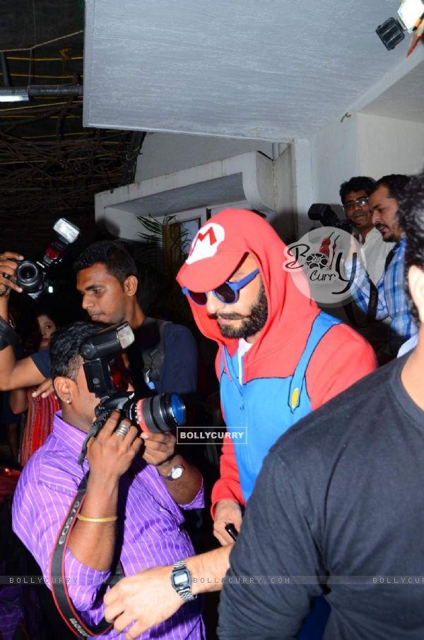 Ranveer Singh Dons Mario Dress at Trailer Launch of Chalk N' Duster