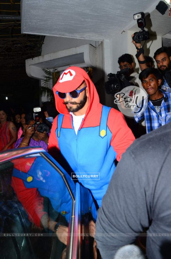 Ranveer Singh at Chalk N Duster Trailer Launch