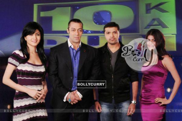 Salman, Sonal, Himesh and Shenaaz