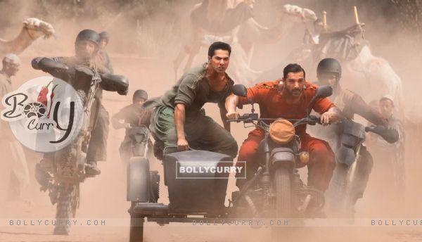 Introducing Kabir and Junaid in Dishoom - Varun Dhawan and John Abraham