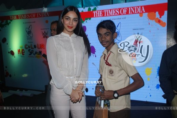 Kiara Advani as Guest for Prize Distribution Function of Colour Splash