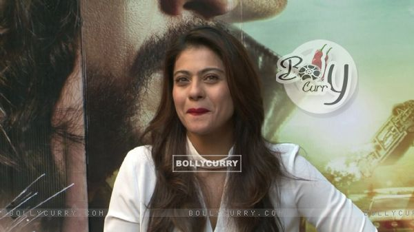 'Forever Young' Kajol Snapped During 'Dilwale' Interview