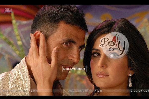 Still image of Akshay Kumar and Katrina Kaif