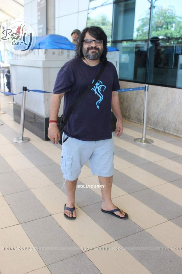 Pritam Snapped at Airport