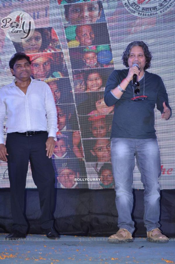 Amol Gupte and Johny Lever at Tata Memorial Hospital's HOPE 2015 Event