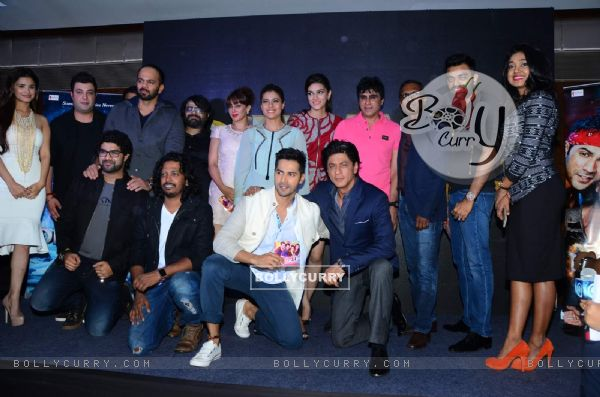 Whole Cast of Dilwale at Launch of 'Tukur Tukur' Song
