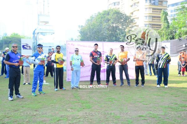 Celebs Snapped at JPPL Cricket League Match