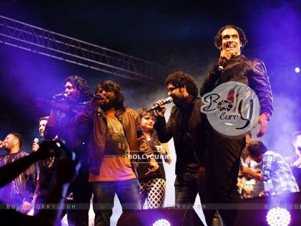Jubin Nautiyal, Pritam, Siddharth Mahadevan and Aditi Singh Sharma