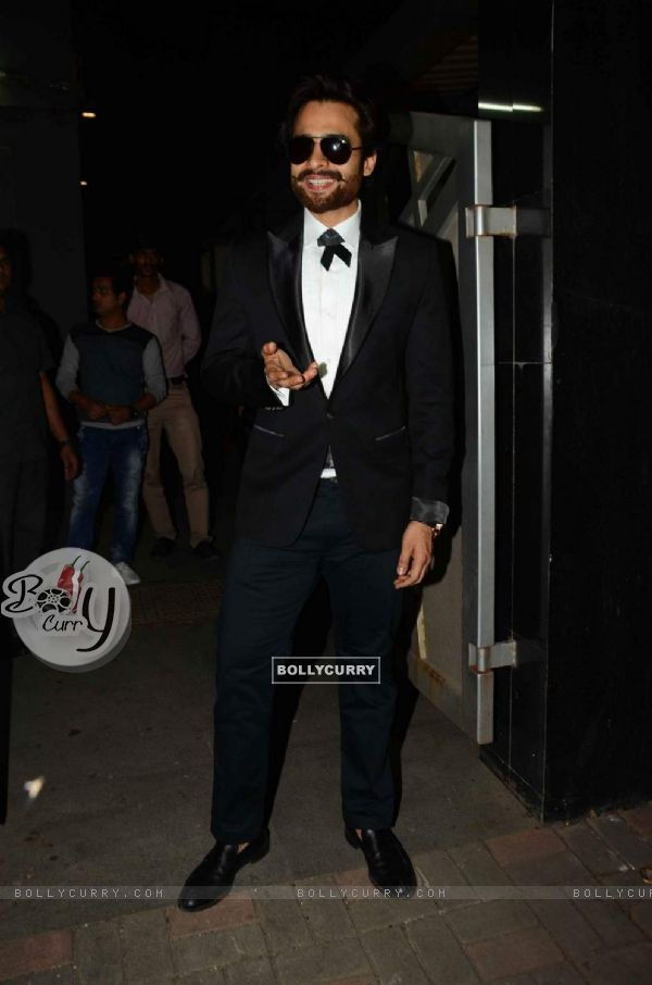 Jackky Bhagnani poses for the media at his Birthday Bash
