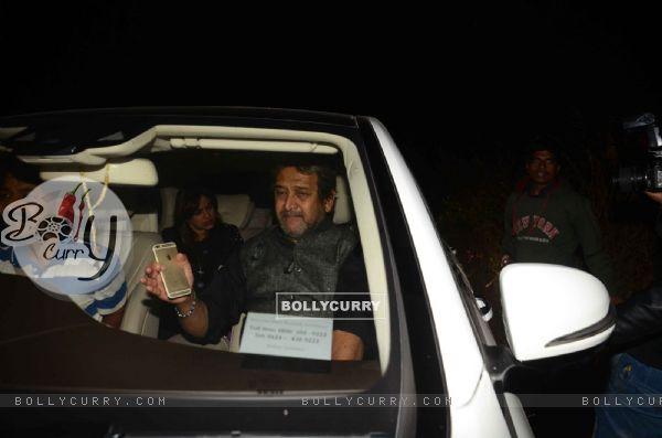 Mahesh Manjrekar at Salman Khan's Birthday Bash