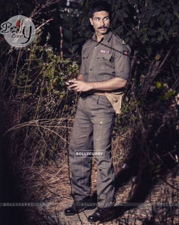 Shahid Kapoor's Look in Rangoon