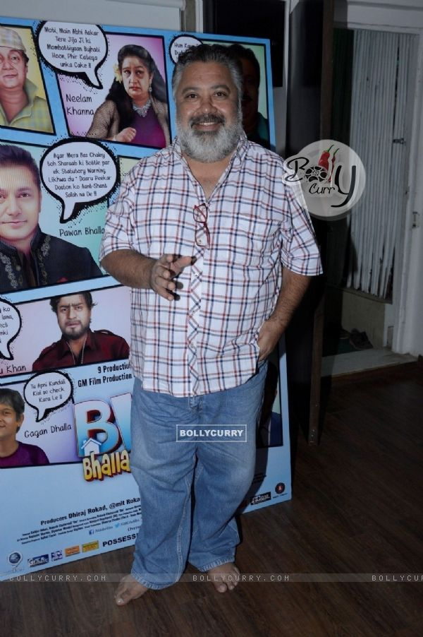 Manoj Pahwa at Press Meet of BHK Bhalla@Halla.Kom