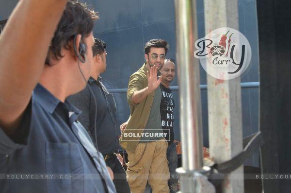 Ranbir Kapoor snapped at Mehboob Studio