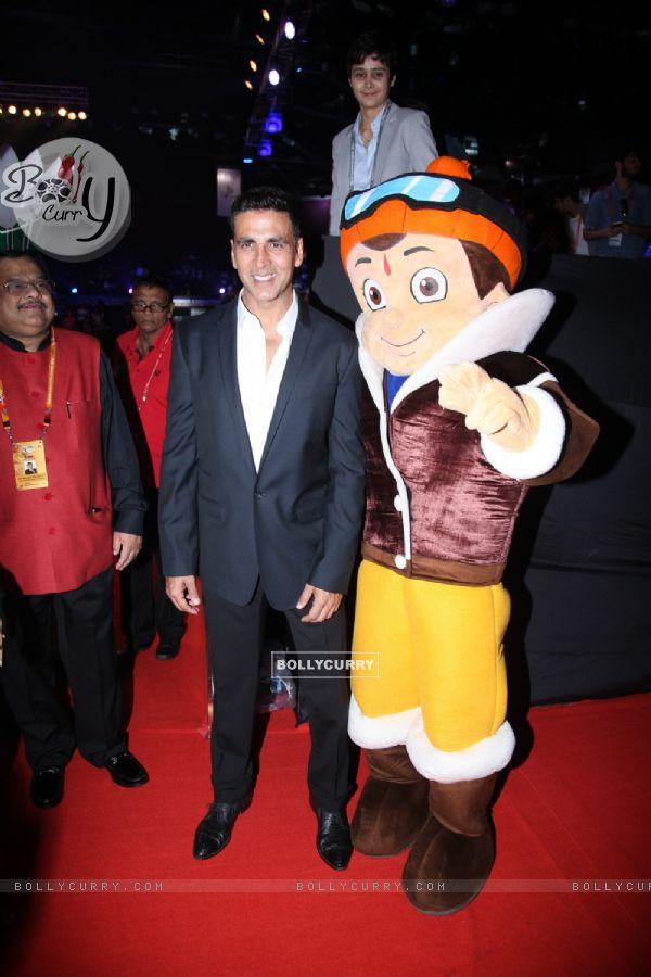 Akshay Kumar at Chhota Bheem Premiere