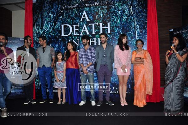 Whole Cast at Launch of Film 'A Death in the Gunj'