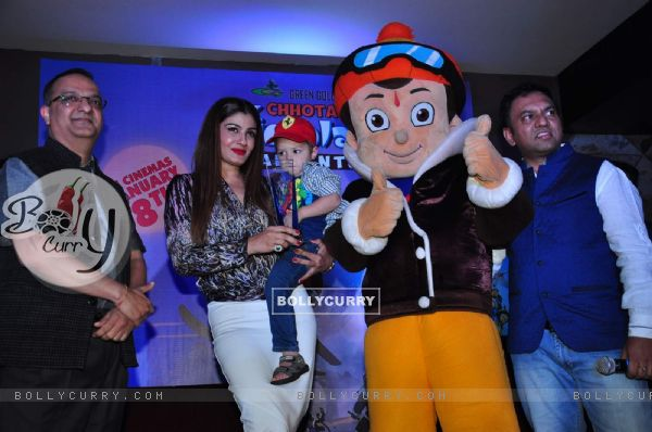Raveena Tandon at Special Screening of 'Chhota Bheem - Himalayan Adventure'