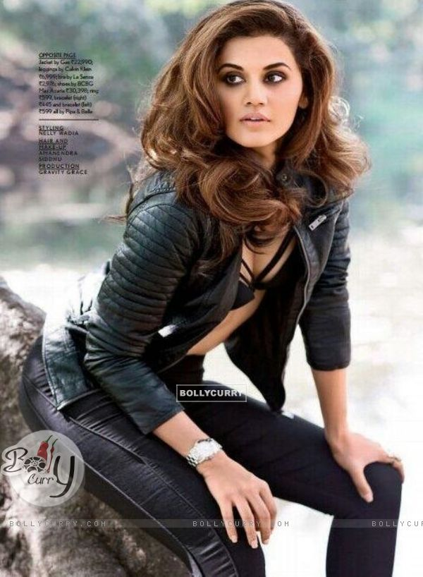 Taapsee Pannu in MAXIM photoshoot