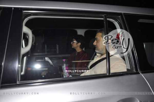 Aamir Khan and Kiran Rao Snapped in Bandra