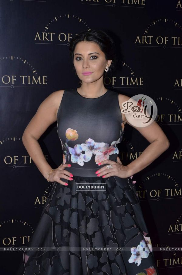 Minissha Lamba at the Art of Time Store Launch