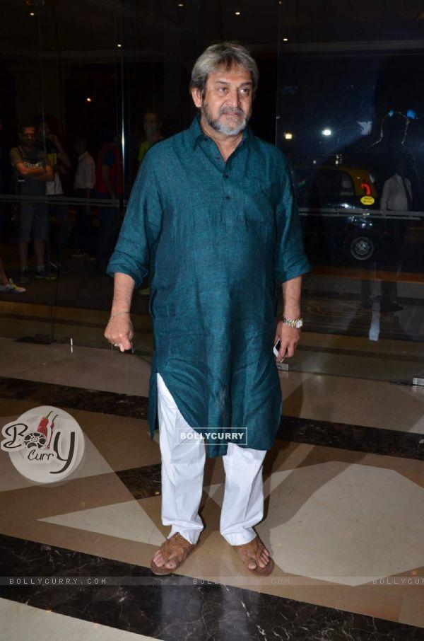 Mahesh Manjrekar at Success Bash of 'Natsamrat'