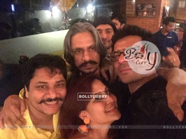 Vijay Raaz and Sunil Grover Celebrates Lohri at The PUMP Room Beer Factory