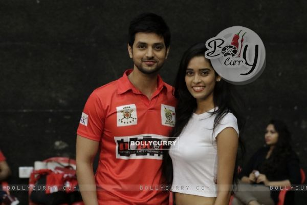 Shakti and Neha at BCL Season 2 Practise Session