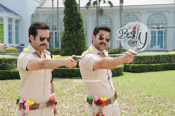 Tusshar and Aftab in Kyaa Kool Hain Hum 3