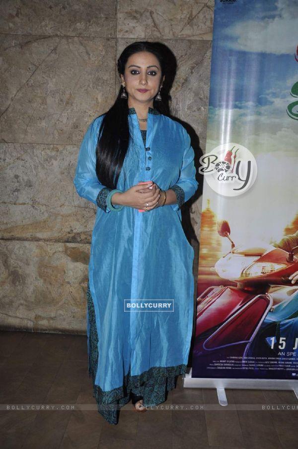Divya Dutta at Screening of 'Chalk N Duster'
