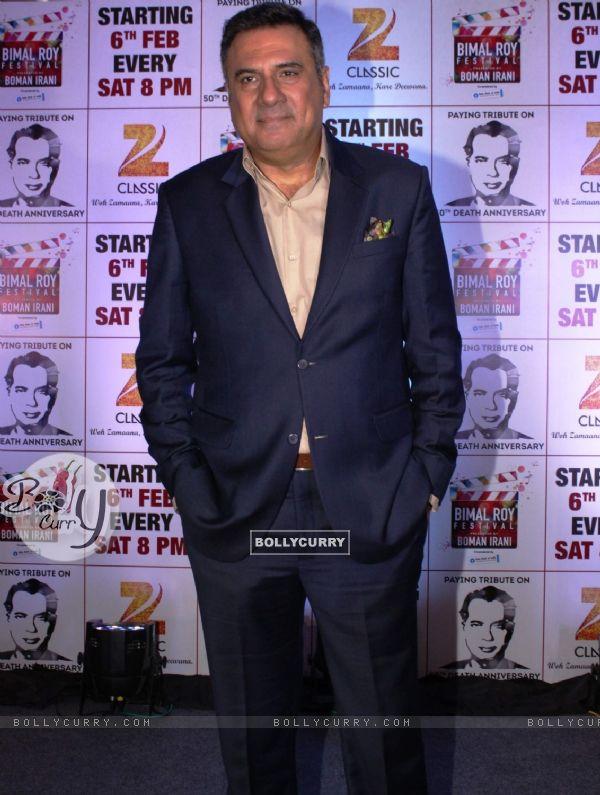 Boman Irani at Zee Classic's Bimal Roy Film Festival